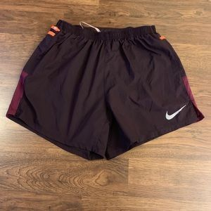 Nike DRI FIT Magenta Wine Shorts